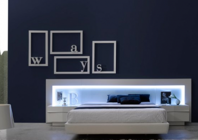 Linea de dormitorios Matrimonio Delta