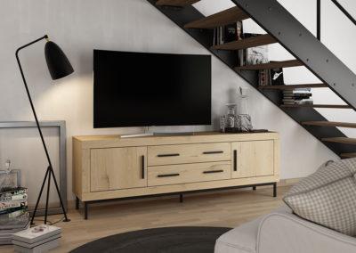 Salón, nuevos módulos para pequeños espacios, zona office, nuevos acabados...