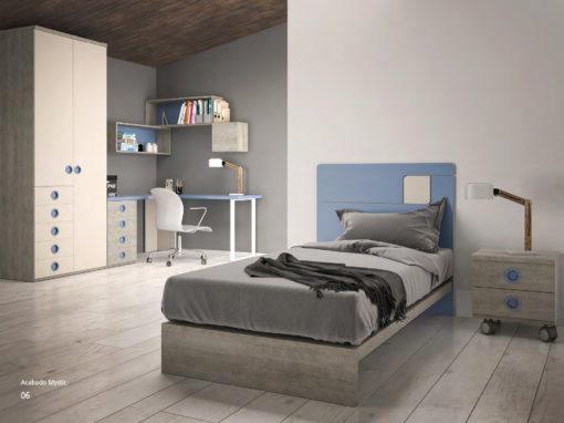 Programa de dormitorios juveniles. Diseño y calidad.