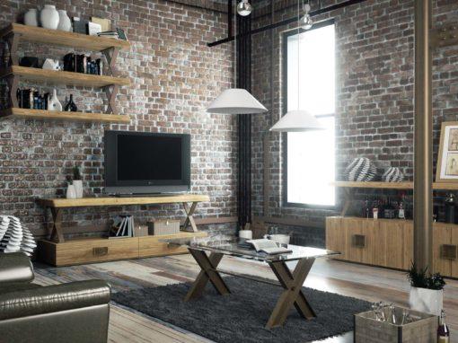Mueble industrial.