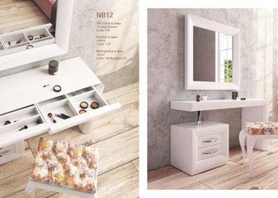 Tocadores bella, elige los acabados y combina cualquier tocador con cualquier espejo del catálogo.